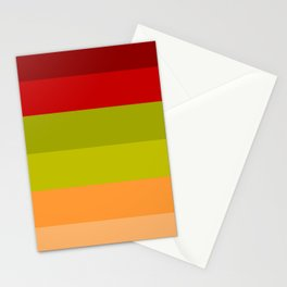 Warm Bright Autumn Leaves - Color Therapy Stationery Cards