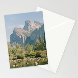 Yosemite Fall Valley Views - Fine Art Film Travel Photography Stationery Cards