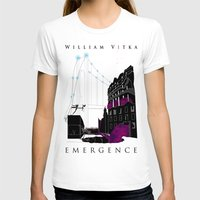 book cover T-shirts featuring Emergence - Book Cover by svitka