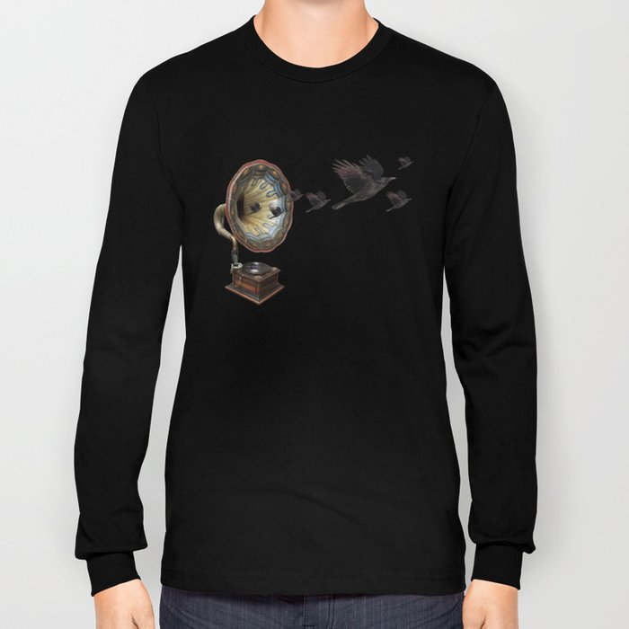 the sound of crows Long Sleeve T-shirt