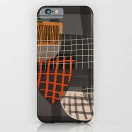 Grids 1 iPhone Case