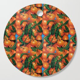 Florida Oranges Cutting Board