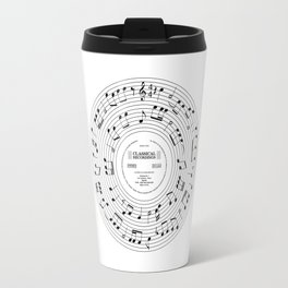 Roll over Beethoven Travel Mug