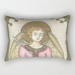 Peace Angel Rectangular Pillow