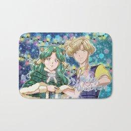 Merry Xmas Haruka & Michiru! Bath Mat