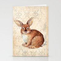 rabbit Stationery Cards featuring Rabbit by Patrizia Ambrosini