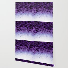 Purple Crystal Ombre Wallpaper