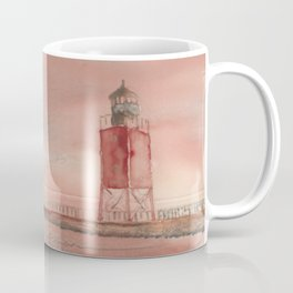 Charlevoix South Pierhead Coffee Mug