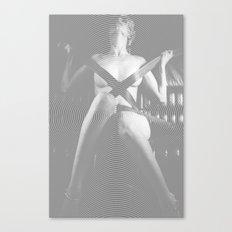 Madam Moiré 4 Canvas Print