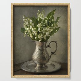 Lily of the valley Serving Tray