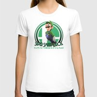 super smash bros T-shirts featuring Luigi - Super Smash Bros. by Donkey Inferno