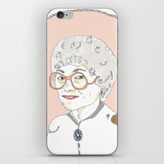 Sophia iPhone & iPod Skin