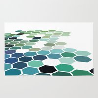 colorado Area & Throw Rugs featuring Colorado by Bakmann Art