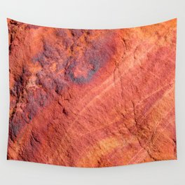 Natural Sandstone Art - Valley of Fire Wall Tapestry