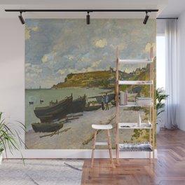 Claude Monet Impressionist Landscape Oil Painting Sainte-Adresse Wall Mural