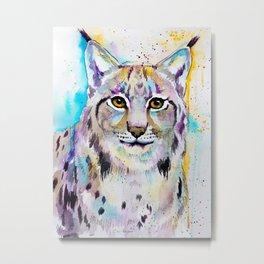 Lynx Metal Print