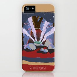 Greendale Forrest iPhone Case