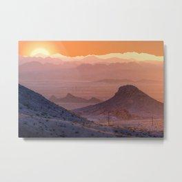 Mead Sunrise Metal Print