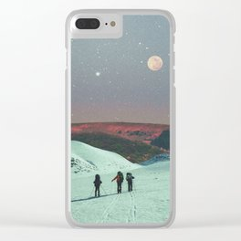 The Missing Three Clear iPhone Case