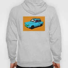 Trabant blue pop Hoody