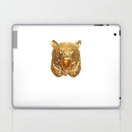 Gold Bear Laptop & iPad Skin