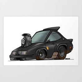 Mad Max Interceptor - The Last of the V8's Art Print