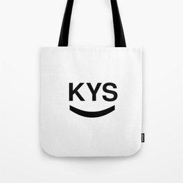 KYS SMILE Tote Bag