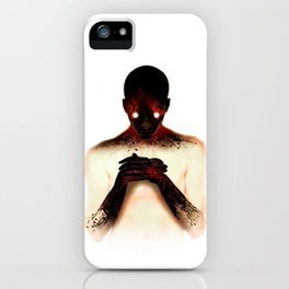 The matchstick iPhone Case