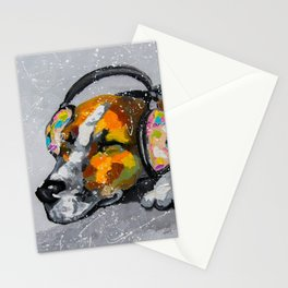 Blues for dog Stationery Cards
