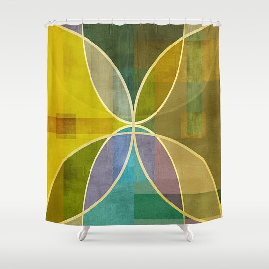 Textures/Abstract 96 Shower Curtain