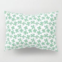 Pattern Project #53 / Four Leaf Clovers Pillow Sham