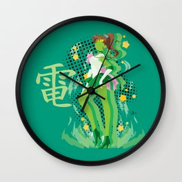 Soldier of Thunder and Courage Wall Clock