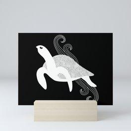 Sea Turtle Spirit Animal Mini Art Print