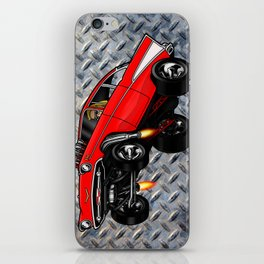 1957 Classic Chevy Gasser iPhone Skin
