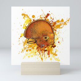 Cock of the rock Mini Art Print