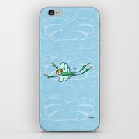 angel iPhone & iPod Skins featuring Angel by Giuseppe Lentini
