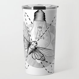 Moth to the Flame Travel Mug