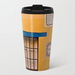 Yellow Wall Travel Mug