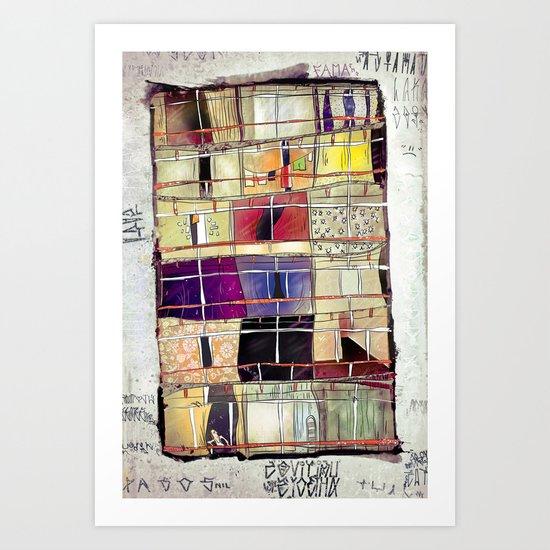 Aconchego -SP Art Print