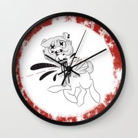 gore Wall Clocks featuring gore horse by kairbear