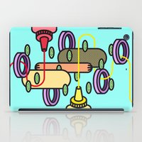 hot dog iPad Cases featuring Hot dog by Jan Luzar