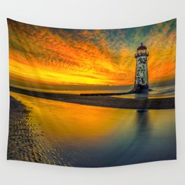 Evening Delight Wall Tapestry