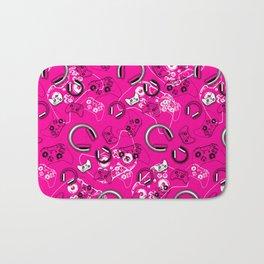 Gamers-Pink Bath Mat
