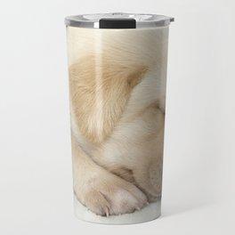 Sleeping labrador puppy Travel Mug