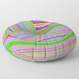 In the colorful focus 2 Floor Pillow