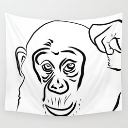 Year of the Monkey 2016 : Chinese Zodiac Sign  Wall Tapestry