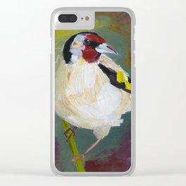 European Goldfinch Clear iPhone Case