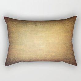 Antique grunge linen texture Rectangular Pillow