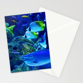 Underwater Sea Stationery Cards