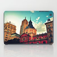 madrid iPad Cases featuring Madrid Sky by Melanie Ann